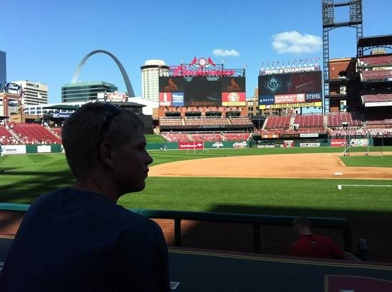 Busch Stadium: great downtown ballpark with views of the sites