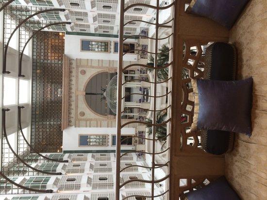 ITC Maratha, Mumbai : View from lift lobby