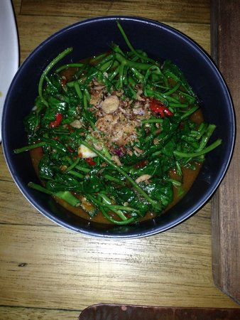 Potato Head Beach Club: Kangkung - yummy!