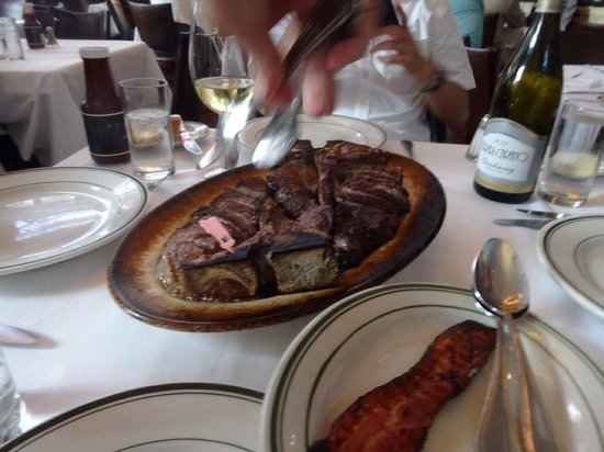 Wolfgang's Steakhouse : これが目的の…