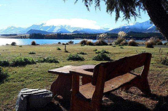 The Chalet Boutique Motel: Stunning view of Lake Tekapo