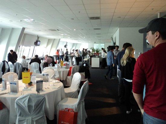 Hockenheimring: Restaurante da área VIP