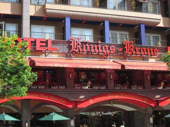 Hotel Konigs-Krone Kobe : 外観