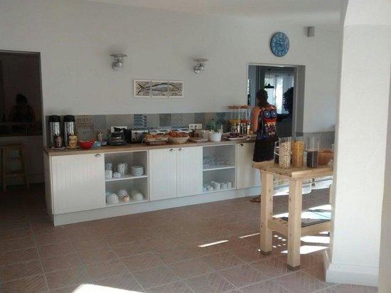 Hotel de Vert Bois : Buffet du petit-déjeuner