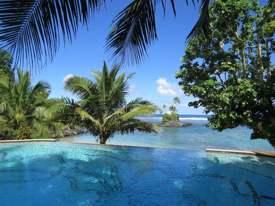 Seabreeze Resort: Infinit pool
