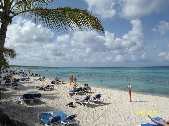 Catalonia Gran Dominicus: Пляж отеля