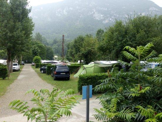 Alliat, Francia: Zona de acampada