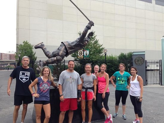 City Running Tours - Boston : GREAT Group!