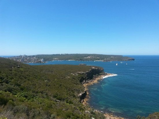 The Spit Bridge: Spit to Manly Walk - The Heads and Manly