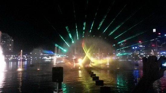 Darling Harbour - Vivid Festival 2014