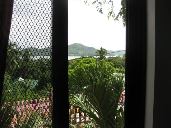Coron Paradise Bed & Breakfast: View from Room
