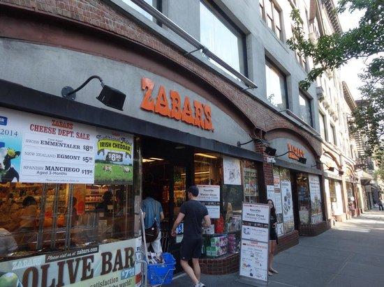 Zabar's : 見た目からして普通のスーパー