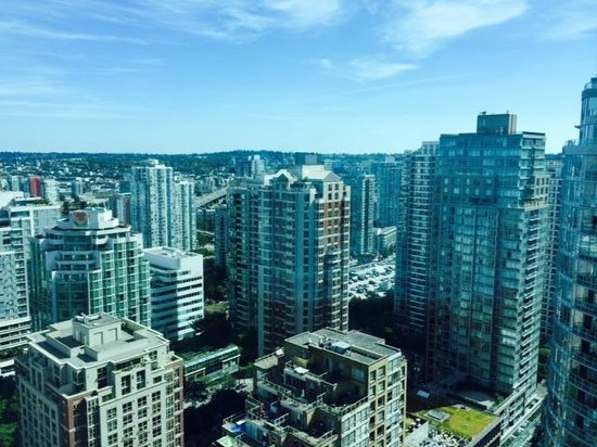 Westin Grand Vancouver: Amazing City View