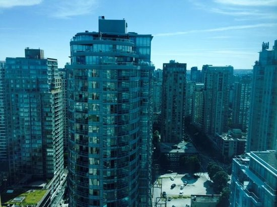 The Westin Grand, Vancouver: view from our window