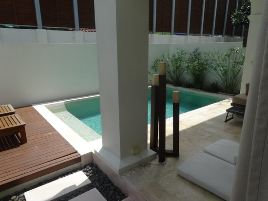 SALA Samui Choengmon Beach Resort: Private pool in our villa