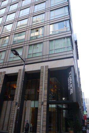 Solaria nishitetsu hotel Ginza : ホテル外観