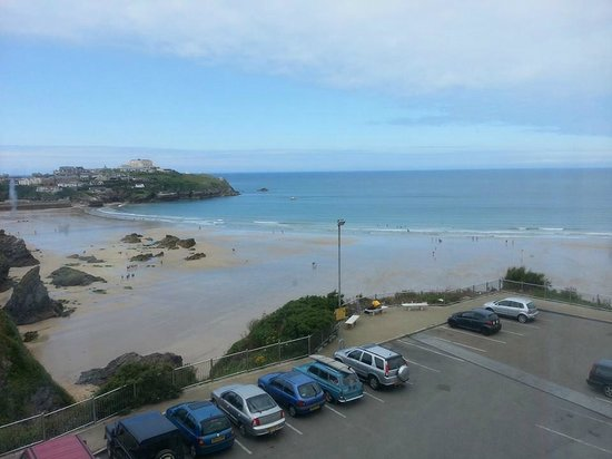 Travelodge Newquay Seafront Hotel: Room with a view! :) This is the view from our room