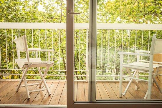 Hotel Saraceno : Prospetto da balconcino