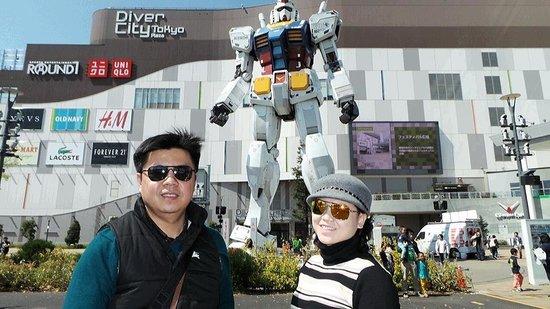 Gundam Front Tokyo : Childhood memories...