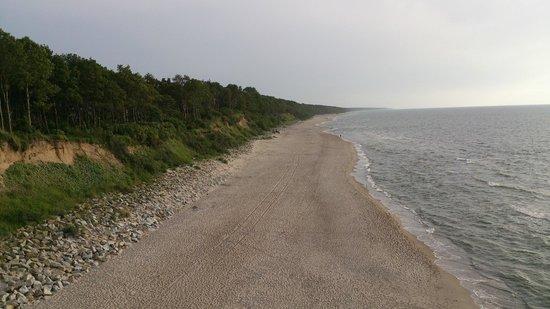 Villa Hoff: Strand von Trzesacz in der Nähe