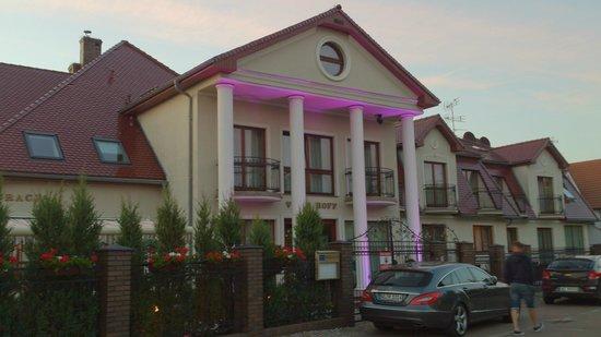 Villa Hoff: Hoteleingang