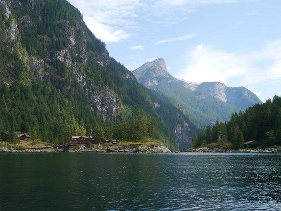 West Coast Wilderness Lodge: Princess Louise Inlet Zodiac Tour