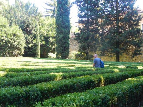 The maze picture of palazzo giardino giusti verona for B b giardino giusti verona