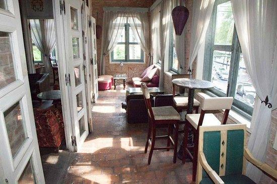 corridor picture of la fenetre soleil ho chi minh city