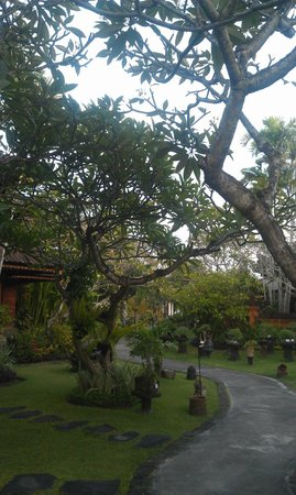 Keraton Jimbaran Beach Resort : the garden