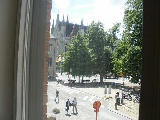 Crowne Plaza Brugge : view from room