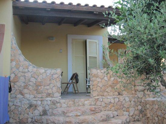 Residence Punta Sottile : verandina