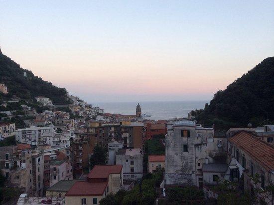 View from breakfast at Villa Lara