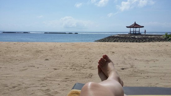 Kayumanis Nusa Dua Private Villa & Spa: Private beach