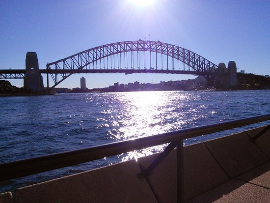 Sydney Harbour Marriott Hotel at Circular Quay: One minute walk from the hotel