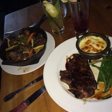 The Bison Restaurant: dinner and drinks