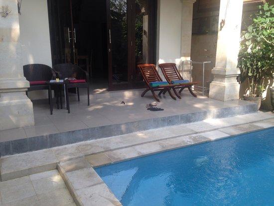 Sama's Cottages and Villas: Villa on Bisma sama's cottages