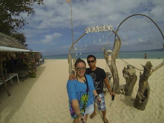 Yapak Beach (Puka Shell Beach): beautiful beach