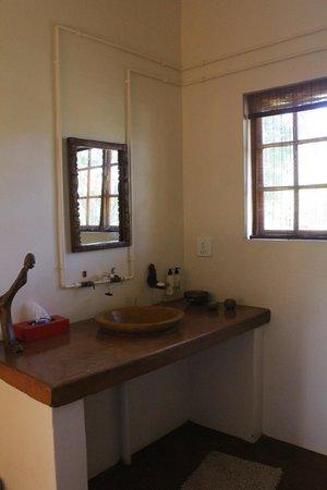 Madi a Thavha Mountain Lodge: Bathroom