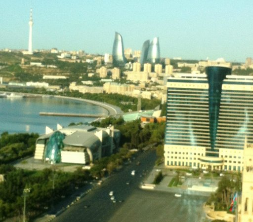 JW Marriott Absheron Baku: Awesome view from the treadmill 2!