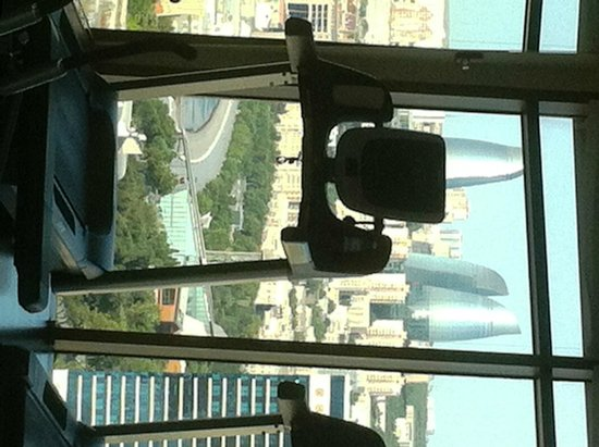 JW Marriott Absheron Baku: Awesome view from the treadmill