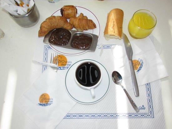 Club Oasis Marine : petit déjeuner du matin