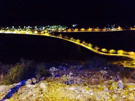 Nido del Aguila Lara Apartments: Last day :( night view