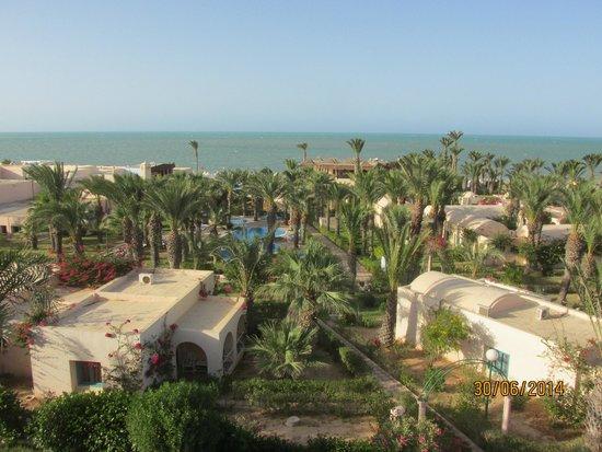 Club Oasis Marine : vue de la chambre