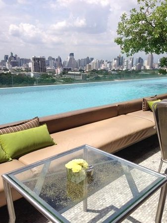 SO Sofitel Bangkok: great pool area