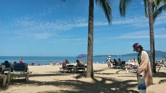 Hotel Riu Vallarta: Tomando el sol