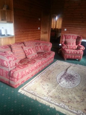 The dowdy living room - Picture of Westfield Country Park, Fitling ...