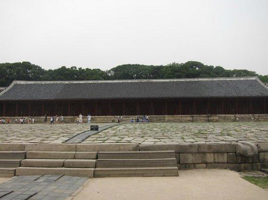 Jongmyo Shrine: 正殿
