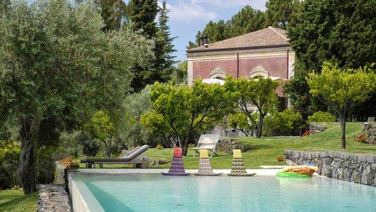 Monaci delle Terre Nere: View from the garden