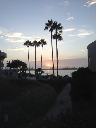 Loews Coronado Bay Resort: Sunset view