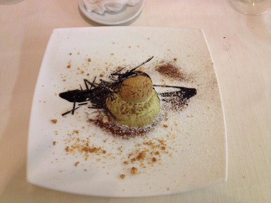 Oceano Sea Restaurant: Semifreddo al pistacchio. 👍